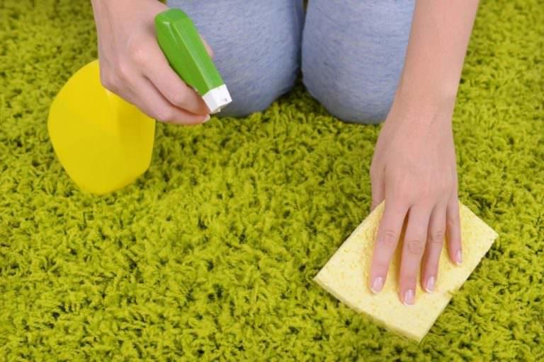 Как правильно почистить палас в домашних условиях