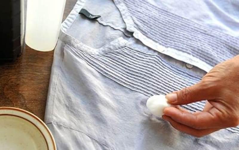 Как лучше вывести жирные пятна с одежды фото