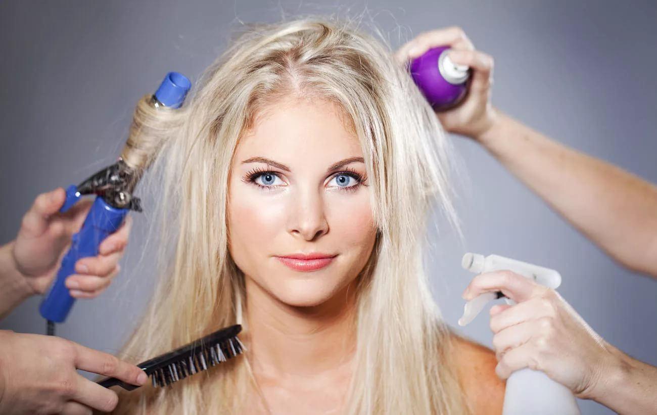 Уход за окрашенными волосами зимой