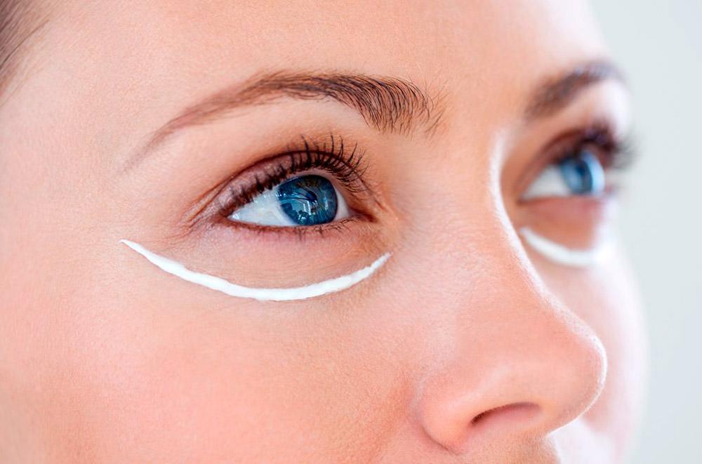 Правильный уход за кожей в области глаз