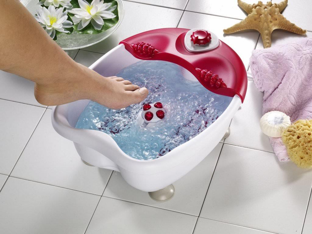 Лечебные ванночки, чтобы вернуть красоту уставшим ножкам