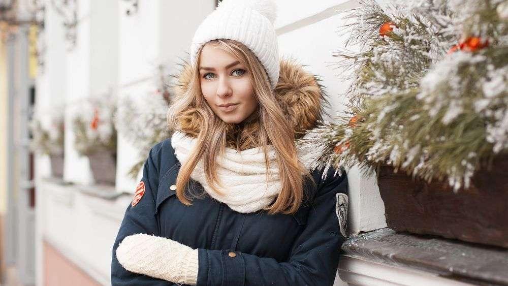 Как зимой выглядеть привлекательно