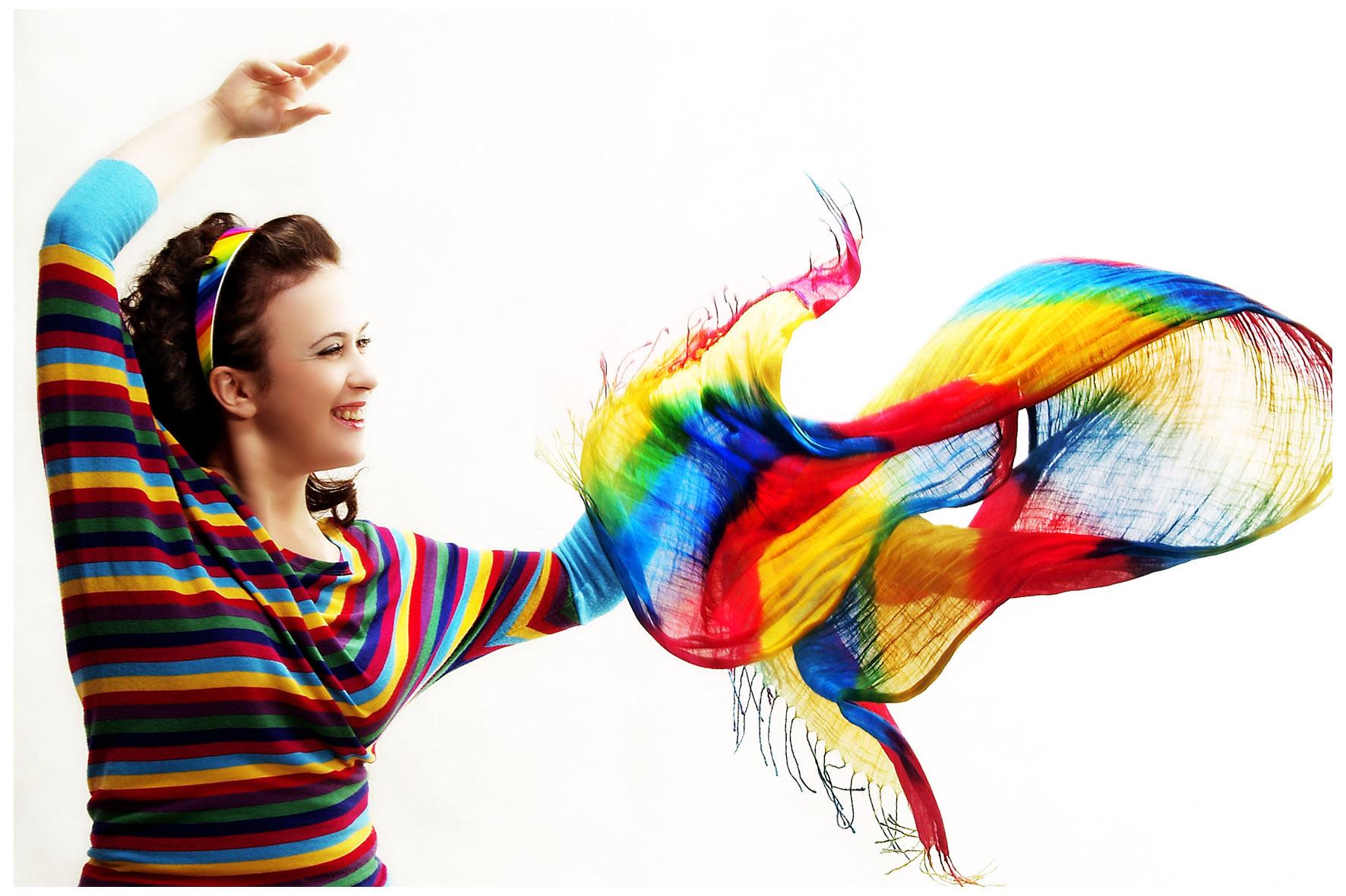 Найди цвета, которые сделают тебя по-настоящему счастливой!