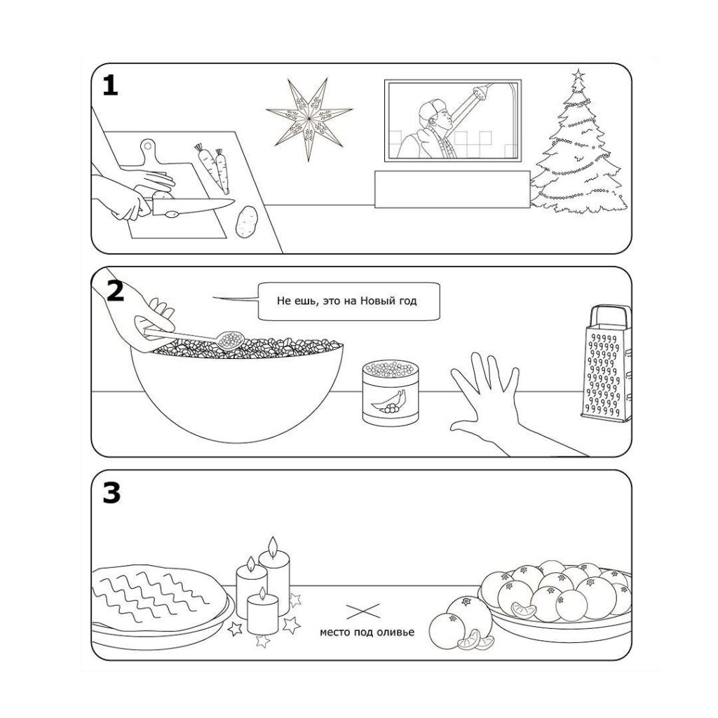 Инструкция по сборке оливье от IKEA
