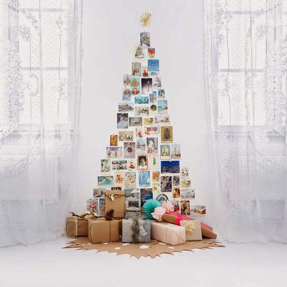 10 идей новогодней ёлки для тех, кто не готов срубить дерево