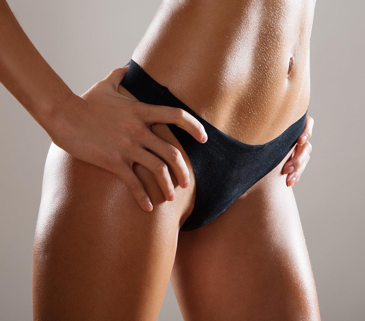 Современная эпиляция бикини — разнообразие методов