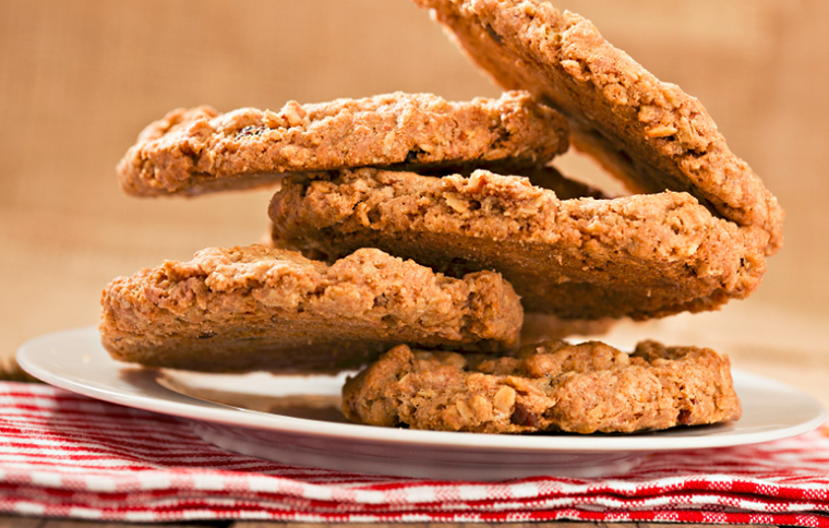 Рецепт самого вкусного низкокалорийного овсяного печенья