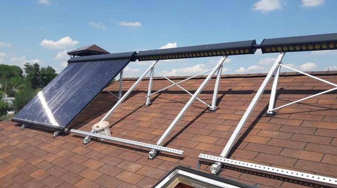 Под каким углом должен быть установлен солнечный коллектор
