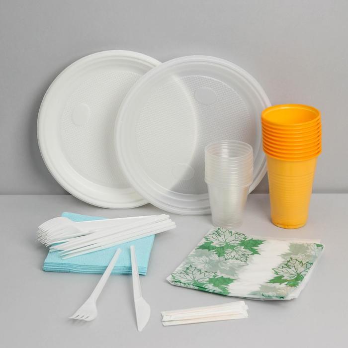 Плюсы одноразовой посуды
