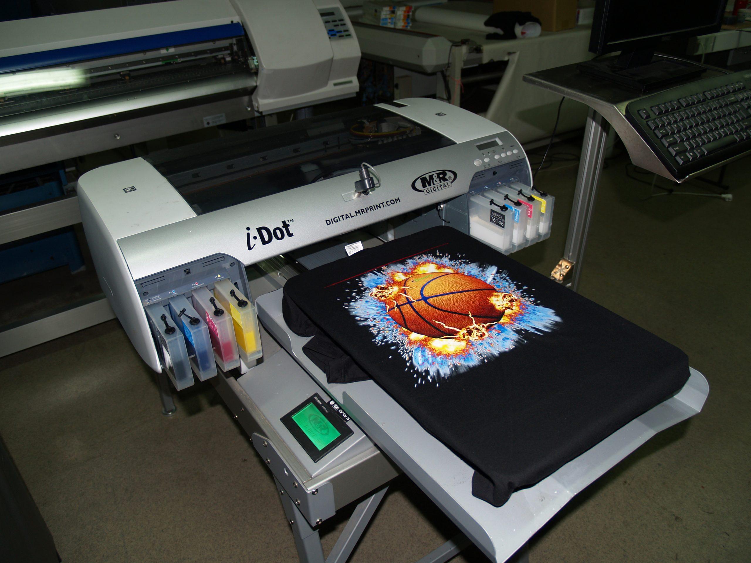 Разновидности печати на текстиле и сувенирах