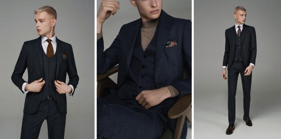 5 причин купить синий мужской костюм