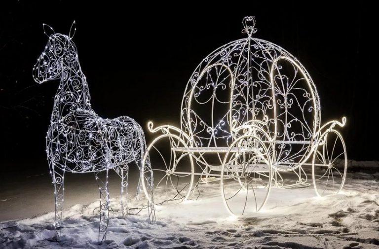 Новогодние светодиодные уличные фигуры – создай настроение праздника
