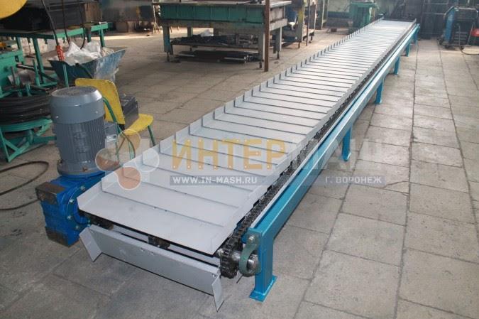 Пластинчатые конвейеры на производстве