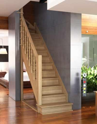 Плюсы лестниц из дерева